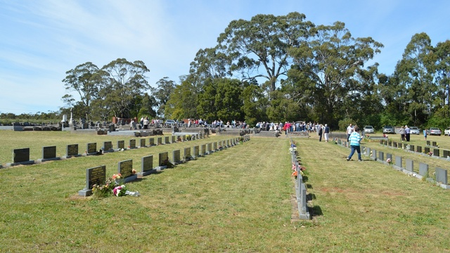 Bungaree Parish Cemetery Mass 7
