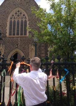 Bishop Paul loud fence 2