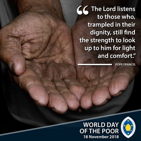 World Day of the Poor 1
